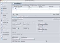 MotioPI Update Mass Cognos User Preferences