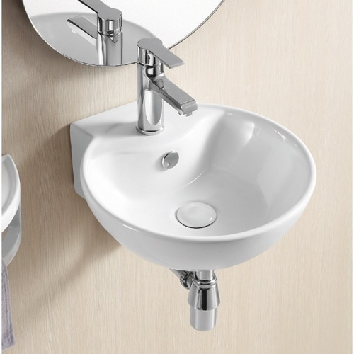 Sink Small Bathroom : Selection of Stylish Wall Mounted Bathroom Sinks for Half Bath or ...