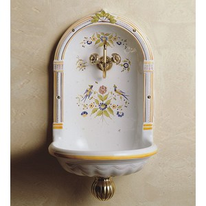 A selection of stylish wall mounted bathroom sinks for for Faience murale wc