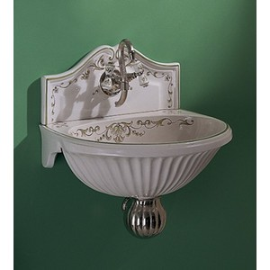 Herbeau Sinks : Herbeau 0205 Sophie Fountain-Style Bathroom Sink With Single Faucet ...