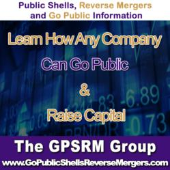 GPSRM Group Joins biggest social network on the web.Reverse Merger and Public Shells