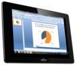 PowerPoit slides with Splashtop Remote Desktop on Fujitsu STYLISTIC M532 Android slate