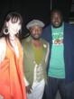 Machaela with pop superstar Will I Am and actor Quinton Aaron