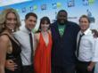 Michaela along with Quinton Aaron, Talon Smith, and Grady Powell