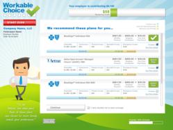 Screen Shot of Workable Choice Plan Presentation