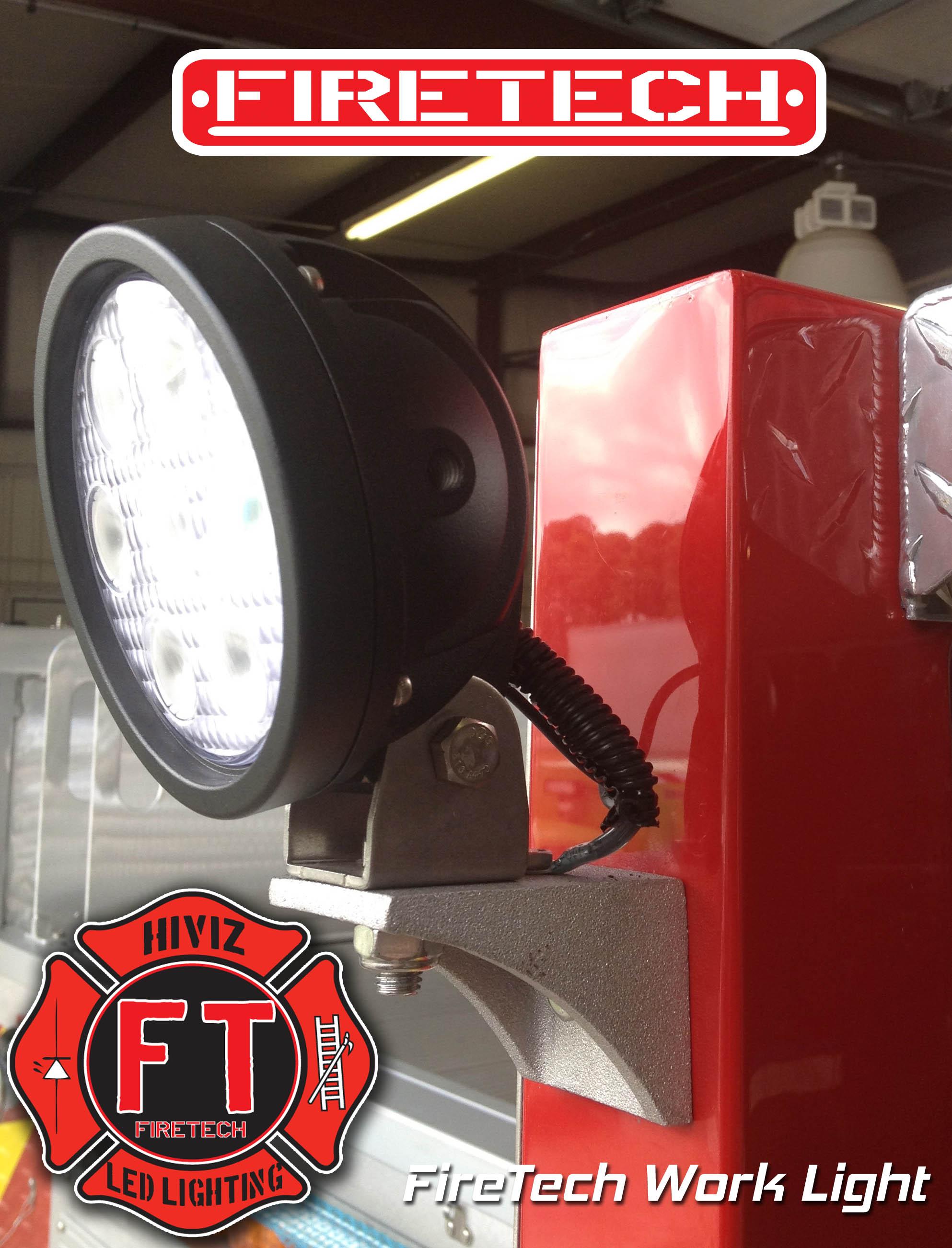 Hall Mark Fire Apparatus Joins Innovator Hiviz Led
