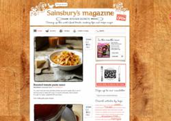 'Kitchen Secrets' Sainsbury's magazine's new blog