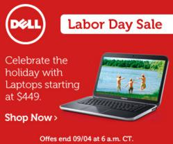 Dell Labor Day Sale and Coupons