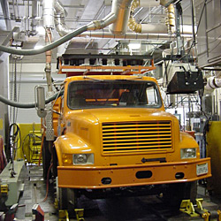 Heavy Duty Emissions Testing Lab