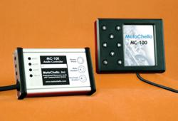 MotoChello MC-100 motorcycle audio system product photo