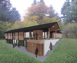 Pumpkin Ridge Passive House buit by Portland/Seattle green builder Hammer & Hand and designed by Scott Edwards Architecture.