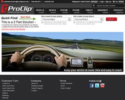 ProClip USA Redesigned Website