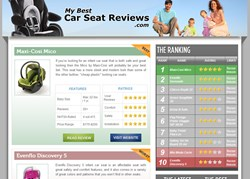 MyBestCarSeatReviews.com features the best car seats and independent reviews.