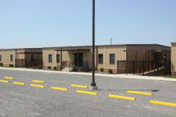 modular school building complex