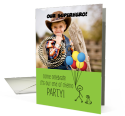 End of Chemo Party Invitations