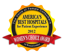 gI 82045 AB 2012 Womens Choice Award: Kaiser Permanente Downey Medisch Centrum Is Tops voor Patient Satisfaction