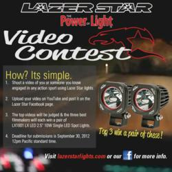 lazer star lights power of light video contest