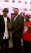 Krayzie Bone, D.Lorand, & DJ Ice on the OHHA 2011 red carpet