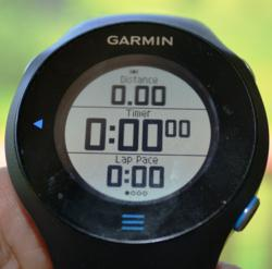 garmin 610, run, touch screen