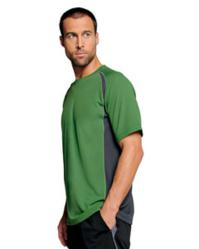Alo M1004 Mens Short-Sleeve Colorblock T-Shirt