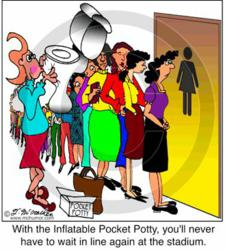 Pocket Potty cartoon