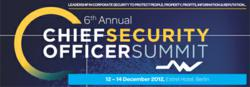 6th Chief Security Officer Summit