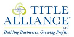 Title Alliance, Ltd. Building Businesses. Growing Profits.