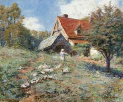 FREDERICK McCUBBIN The Mountain Cottage