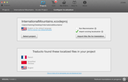 TraductoPro - automatically localizes Xcode projects for iOS or Mac apps