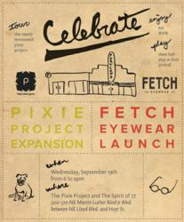 Launch Party Invite | Fetch Eyewear
