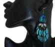 Perihan Tufan Turquoise Earrings