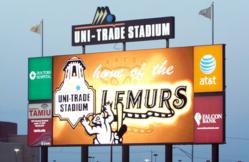 Image of Lighthouse LED Video at Uni-Trade Stadium in Laredo, Texas