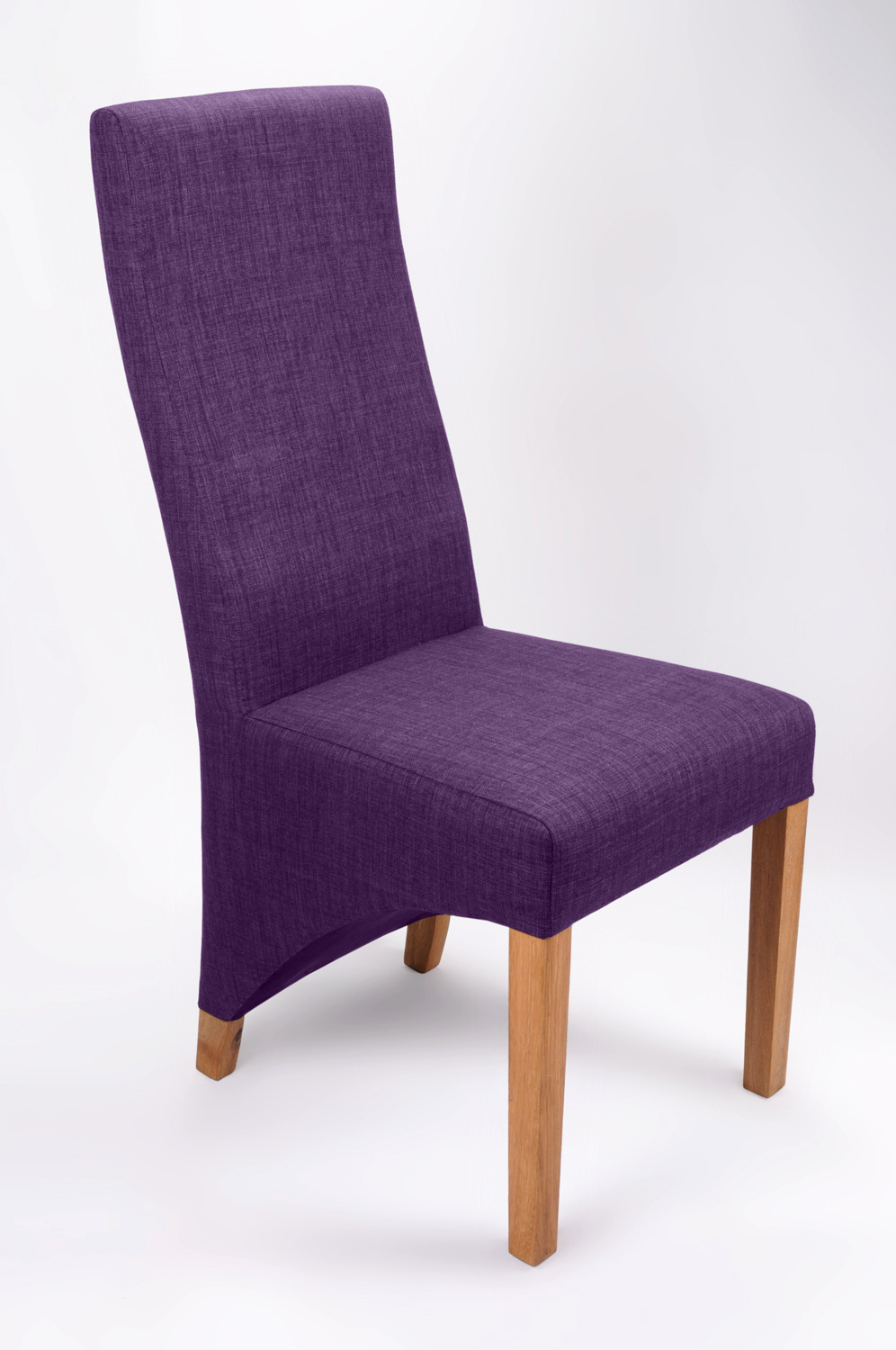 are new dining chairs for the festive period a must - the wave  a stunning addition to the new fabric stylesthis chair shown inthe new plum colour
