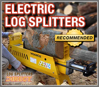 electric log splitter, electric log splitters, electric wood splitter, electric wood splitters
