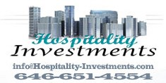 Hospitality Investments & Developments in NYC & beyond 646-651-4554