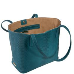 GiGi NY Teddie Tote in Teal at Desires by Mikolay
