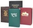 KNG Hardcover Imitation Leather menu covers