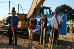 Montgomery Middle School groundbreaking