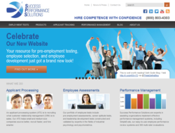 new Success Performance Solutions website