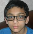 Ankan Bhattacharya, Canton, Mich., Winner of Math Bee Level 3