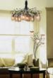 Alitalia Chandelier And Floor Lamp From ELK Lighting