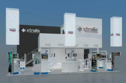 Rendering of Xtralis Booth at Security Essen 2012