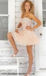 Blush Prom - Homecoming Dress Style 9353