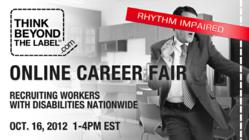 Think Beyond the Label Online Career Fair ad