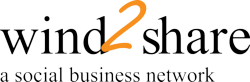 wind2share, a social business network specially designed for your success