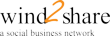 wind2share, a social business network