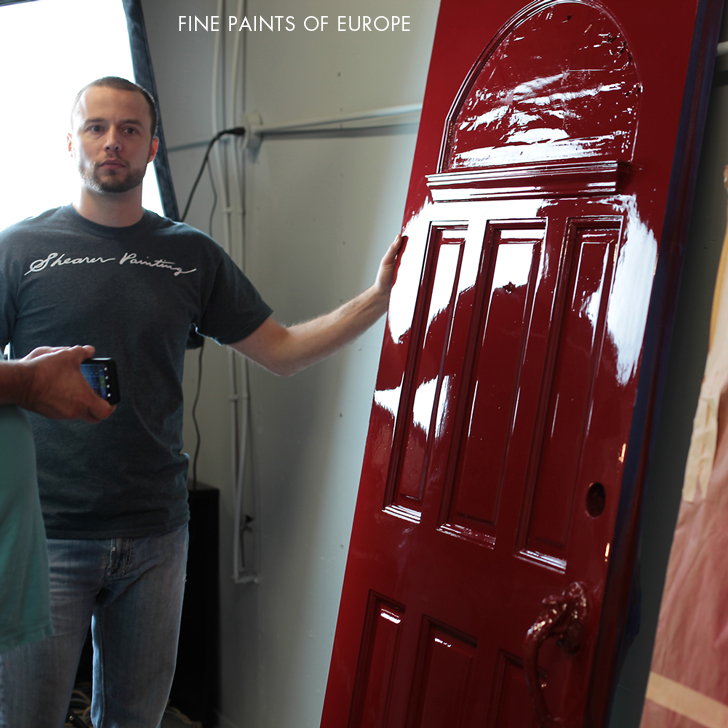 Shearer Painting To Become Certified Fine Paints Of Europe