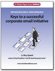Guidance for business leaders on improving email performance