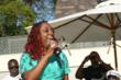Ledisi performing at the Sunshine Beyond Summer Celebration (photo credit: Arnold Turner / Reed For Hope Foundation)