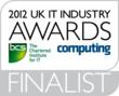 Regulatory Risk Mitigation Solution selected as Finalist for UK IT Awards 2012